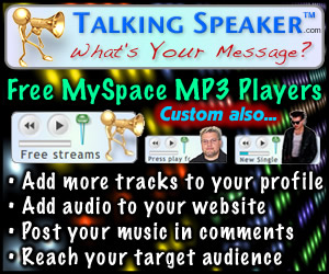 Free MySpace MP3 Players